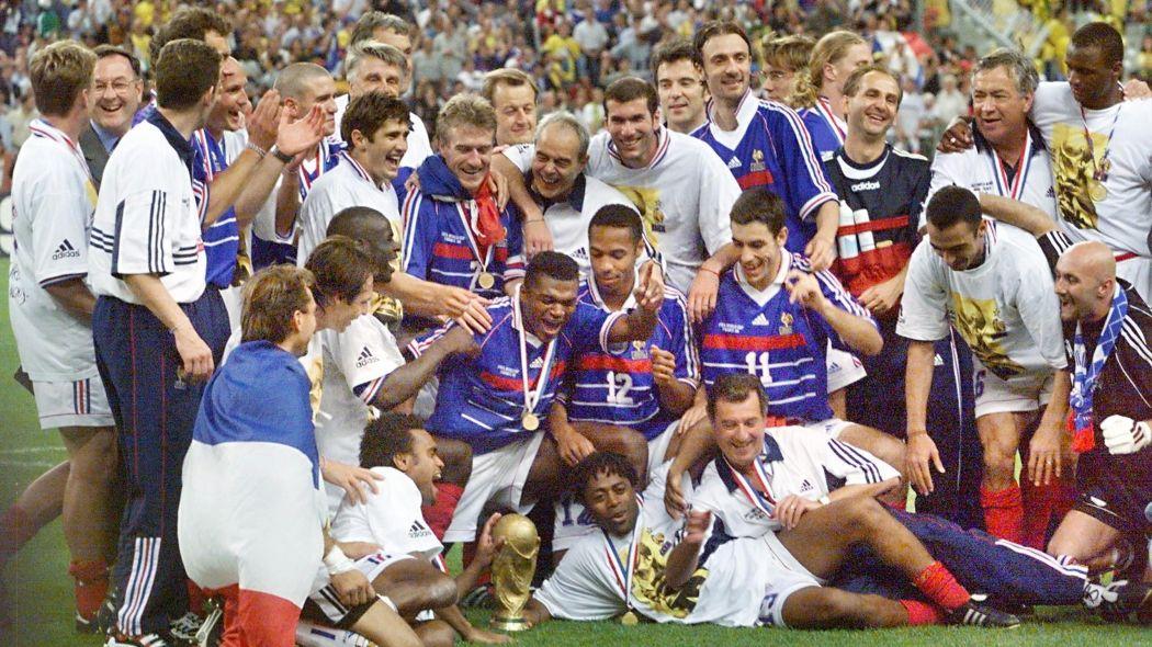 Coupe du monde de football : Équipe de France 2018 vs 1998